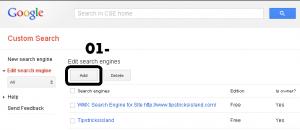 Google Custome Search Engine - 1