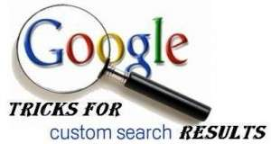 Tricks for Google Custom Search Results in Different Styles