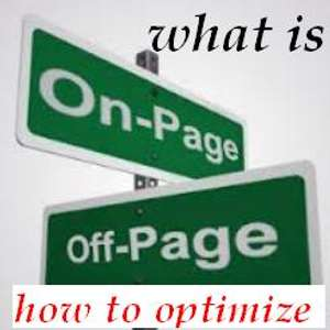 What is On-Page Off-Page SEO and How to Optimize