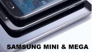 samung mini s4 mega s4 released