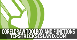coreldraw tools and its function