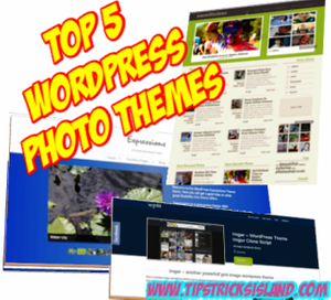 Top 5 WordPress Photo Themes
