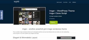 imgur powerful wordpress theme