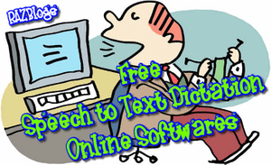 Free Speech to Text Dictation Online Softwares