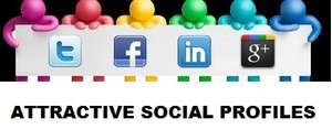 How to create attractive social media profiles