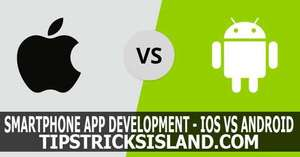smartphone app development iOS and android