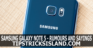 Samsung Galaxy Note 5 Specification