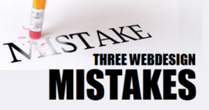 Web Design easily solvable Mistakes