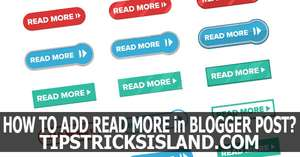 Read More Button in Every Blogger Post