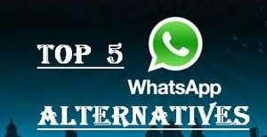 Top Five WhatsApp Alternatives