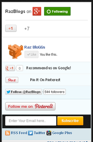 New Mashable Bookmarking Widget with Pinterest
